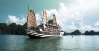 Halong Bay and the Bhaya Cruiseship